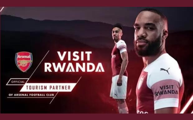 Ruanda vê turismo crescer após patrocinar manga do Arsenal