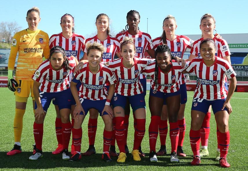 Herbalife manterá máster do Atlético de Madrid feminino até 2023