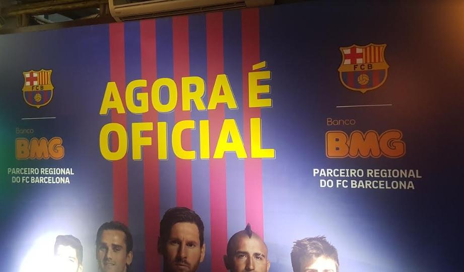 BMG fecha parceria com Barcelona e quer torneio com brasileiros