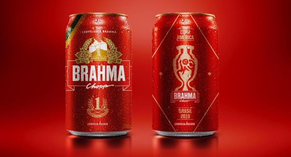 Por Copa América, Brahma cria lata com tour virtual no Mineirão