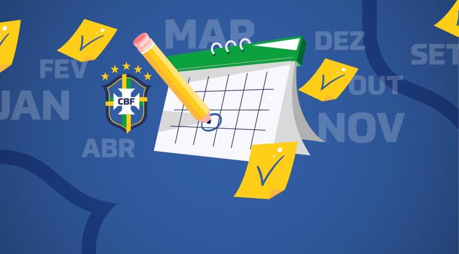 CBF divulga novo calendário com término em fevereiro de 2021