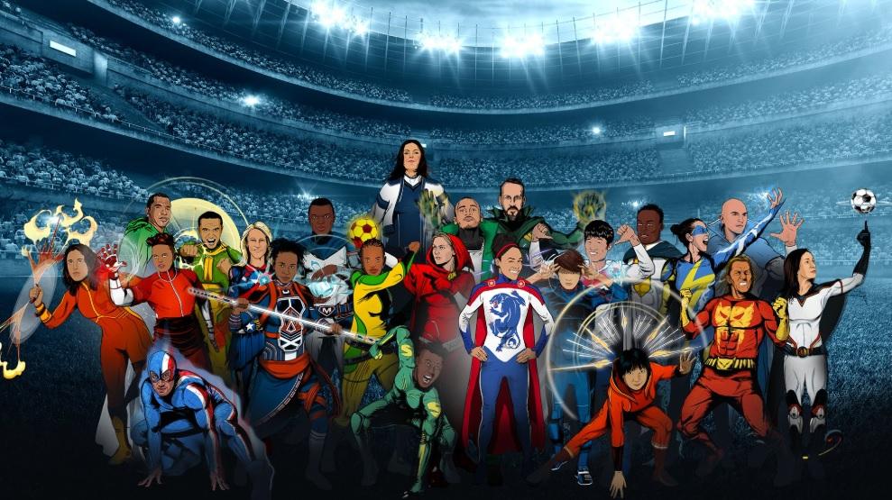 Fifa lança campanha com super-heróis para futebol feminino