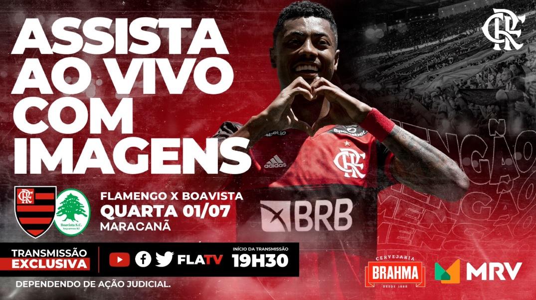 Flamengo bate 2,2 milhões de fãs e fatura em jogo na TV própria
