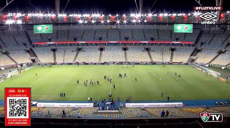 Campo ajuda, e final da Taça Rio vira maior live do mundo
