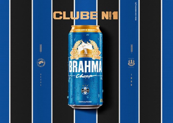 Parceiros desde 2006, Grêmio e Brahma renovam patrocínio