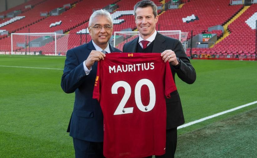 Liverpool fecha acordo para promover turismo nas Ilhas Maurício