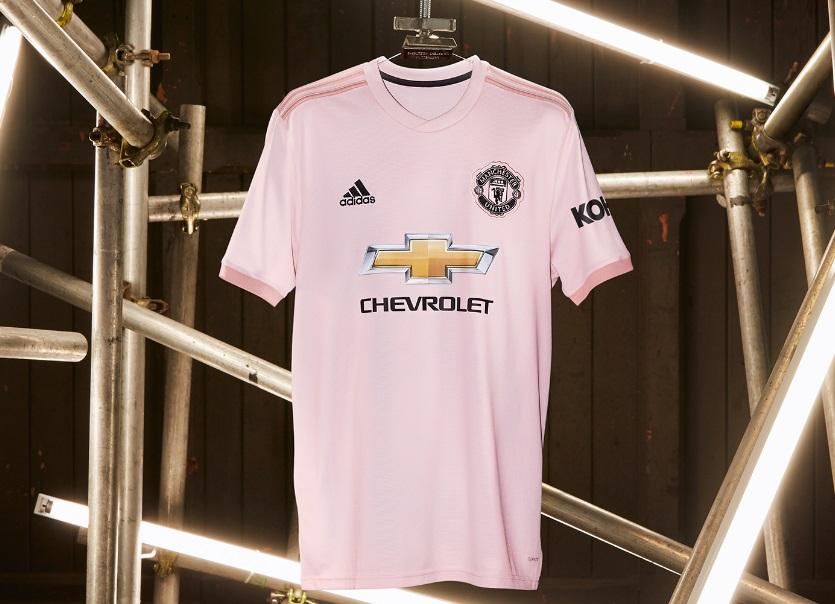adidas surpreende e lanca camisa 2 rosa do manchester united camisa 2 rosa do manchester united
