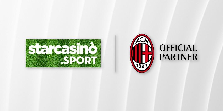 Milan amplia patrocínio com plataforma StarCasinò.sport