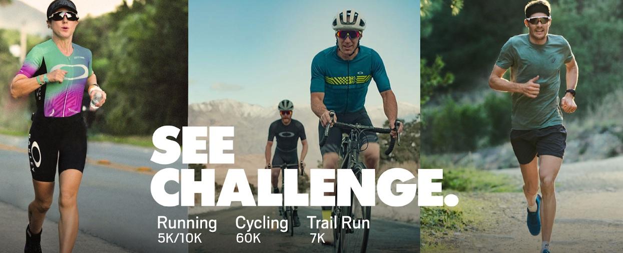 Oakley fará prova de corrida, ciclismo e trail running no Brasil