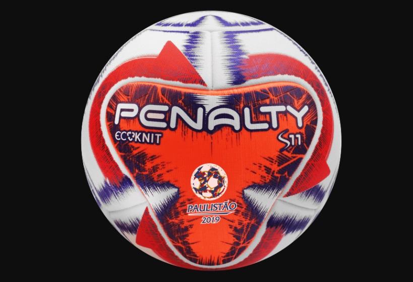Penalty cria bola em tecido ecológico para o Paulistão