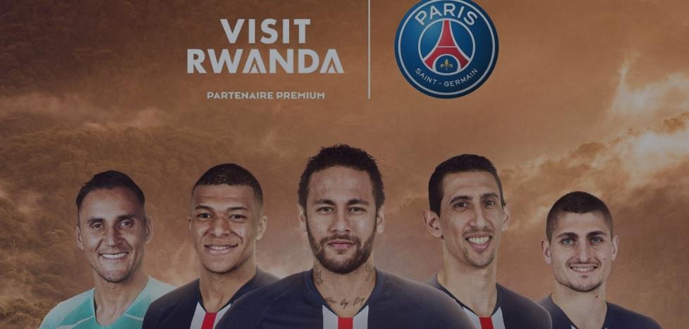 """PSG segue Arsenal e fecha """"patrocínio turístico"""" com Ruanda"""