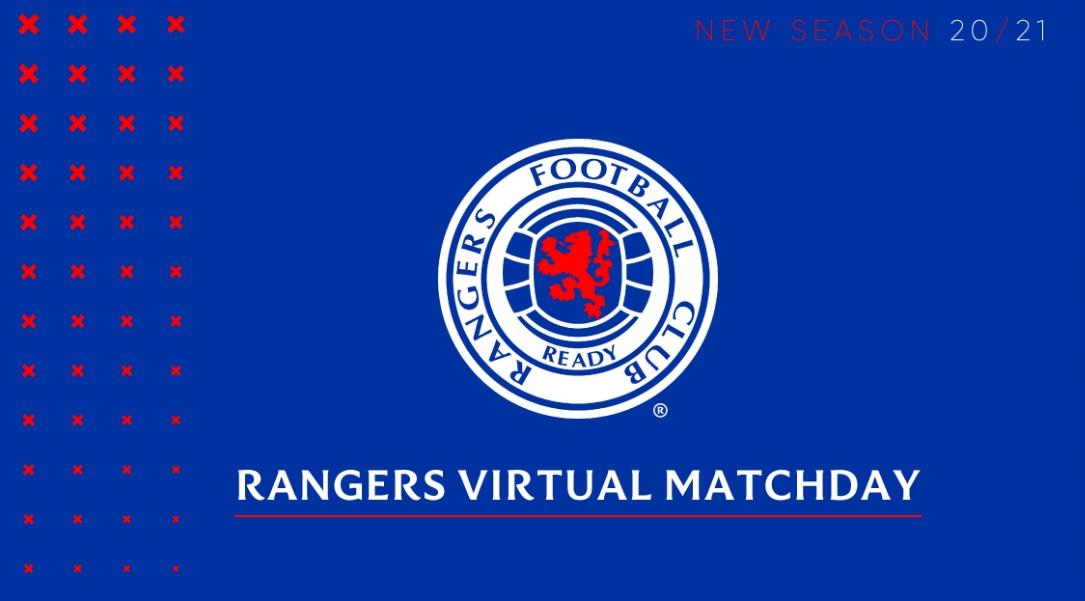 Rangers lança pacote de patrocínio virtual para 2020/2021