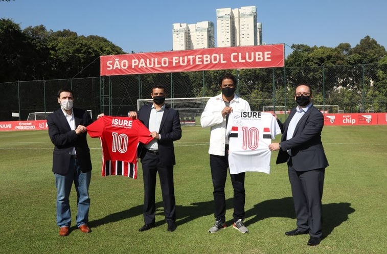 São Paulo fecha com iSure Consultoria e Seguros para as costas