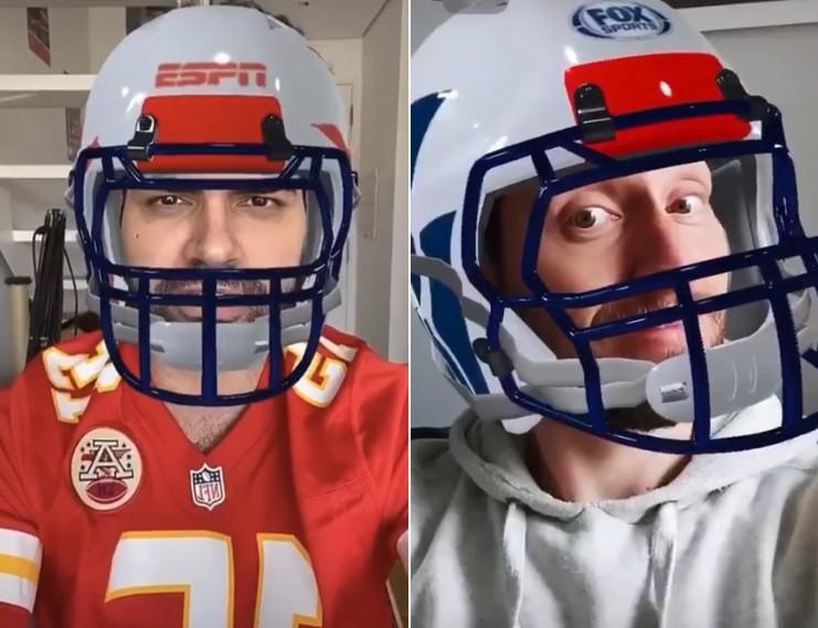 ESPN e Fox Sports usam Instagram para ativar a NFL