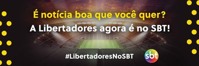 SBT pagará menos que a Globo por Libertadores