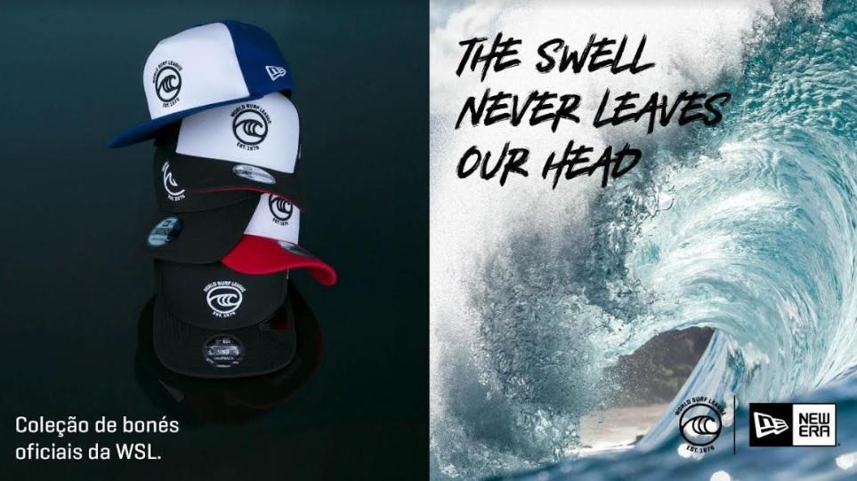 World Surf League lança coleção de bonés em collab com New Era